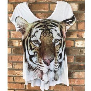 Big Bang Clothing Tiger Top    Medium